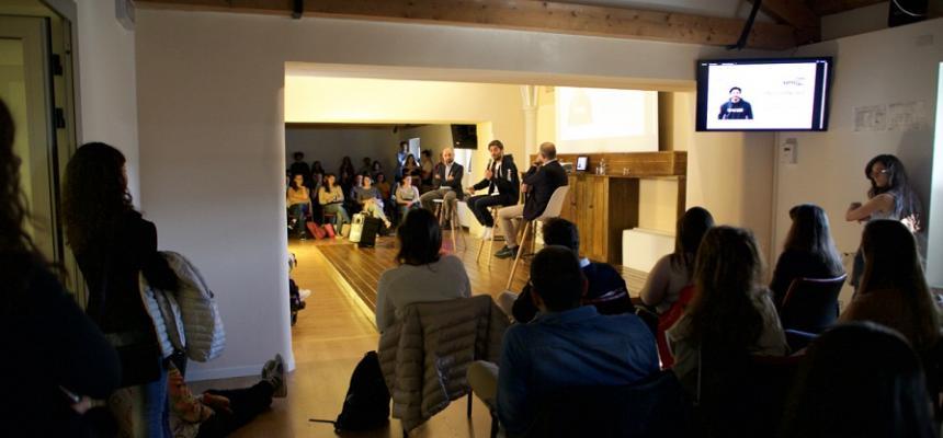 Lino Guanciale al ContaminationLab UniTS: Raccontare e raccontarsi