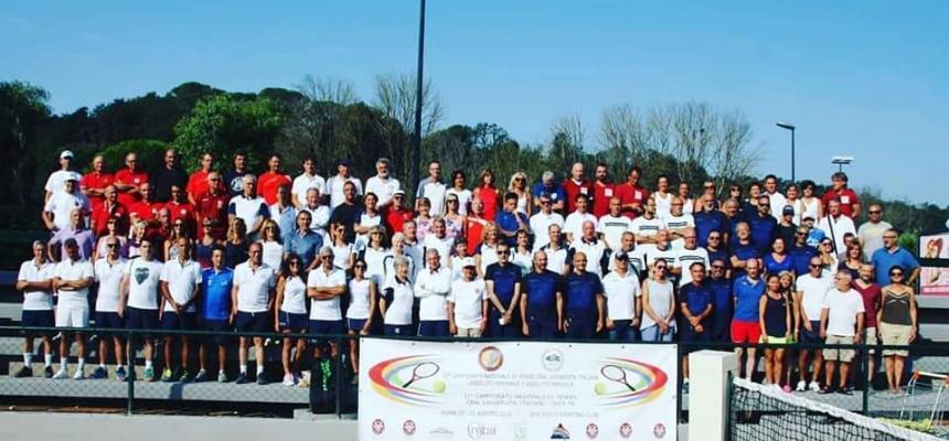 32° Campionato Nazionale di Tennis dei dipendenti delle Università italiane
