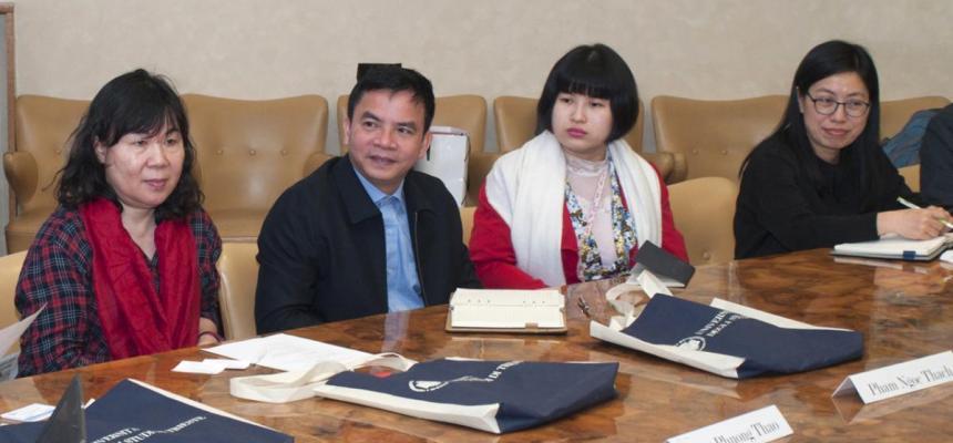 Delegazione vietnamita