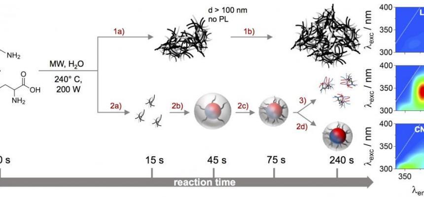 Schema reazione nanodots img