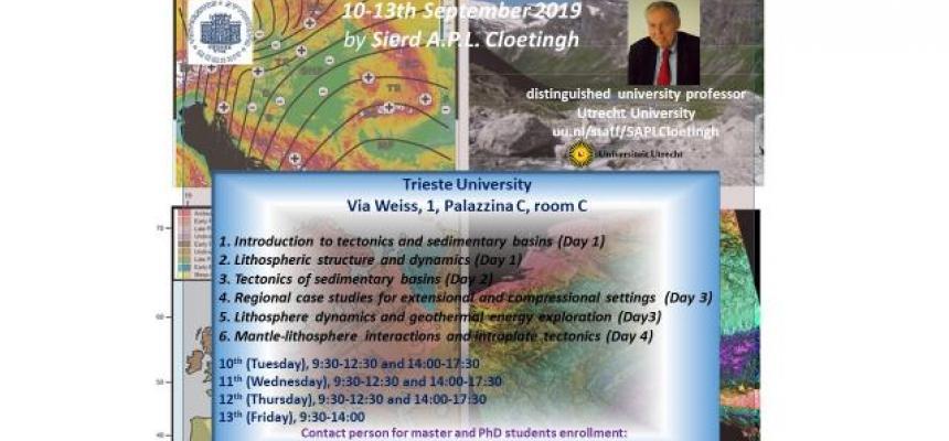Tectonics and Sedimentary Basins Dynamics