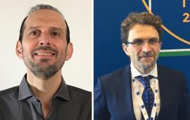First intergovernmental quantum communication-Il prof. Angelo Bassi e il dr. Alessandro Zavatta-Prof. Angelo Bassi and Prof. Alessandro Zavatta