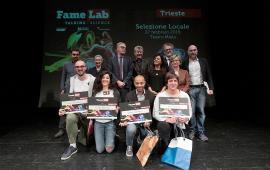 Famelab 2019 winners