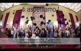 Embedded thumbnail for Online il nuovo bando di ammissione ai corsi di Dottorato di Ricerca A.A. 2020/21