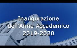 Embedded thumbnail for Inaugurazione AA 2019/2020 la cerimonia integrale