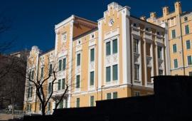 Embedded thumbnail for Collegio Universitario di Merito Luciano Fonda nella sede dell'ex Ospedale Militare