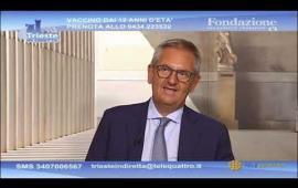 Embedded thumbnail for Il Rettore Di Lenarda su Tele4: novità del nuovo anno accademico e campagna vaccinale tra i temi toccati