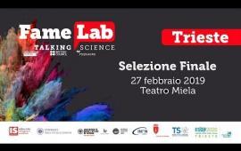 Embedded thumbnail for FameLab 2019: la finale regionale a Trieste