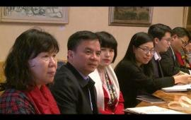 Embedded thumbnail for Delegazione vietnamita in Ateneo