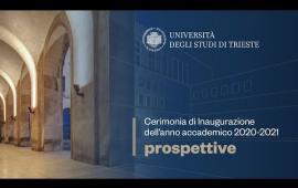 """Embedded thumbnail for """"Prospettive"""": Inaugurazione dell'anno accademico 2020-2021"""