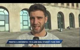 Embedded thumbnail for Trieste e l'Università: 110 e lode dagli studenti fuori sede - Il servizio di Tele4