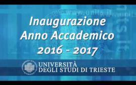 Embedded thumbnail for Inaugurazione dell'Anno Accademico 2016/2017
