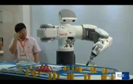 Embedded thumbnail for Presentato il nuovo Master in Robotics.  I servizi televisivi