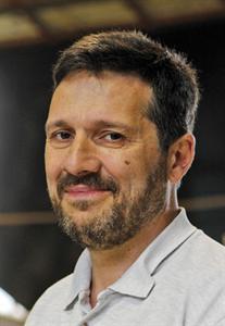 Il regista Giorgio Amodeo