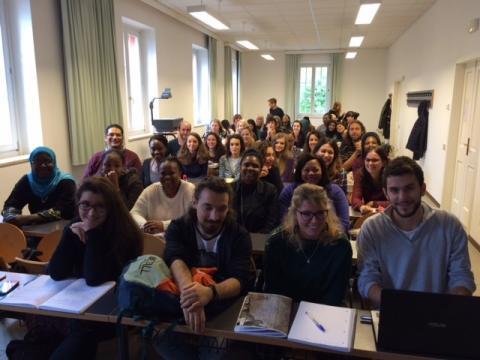 foto di gruppo studenti