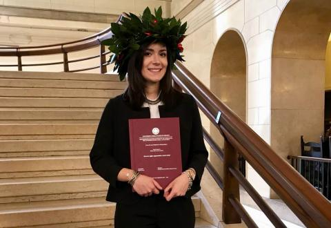 La dott.ssa Giulia Cozzi