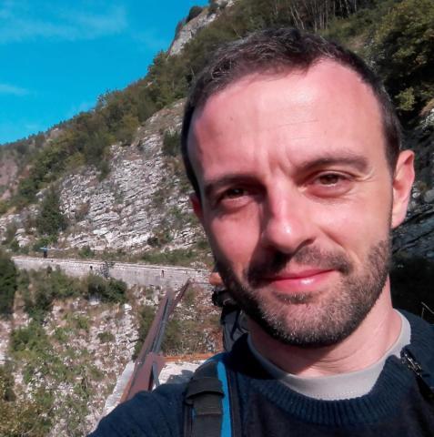 Il ricercatore Marco Franceschi