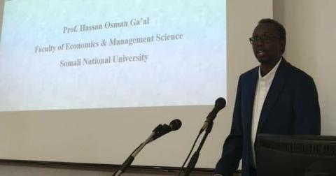 Il prof. Hassan Osman Ga'al
