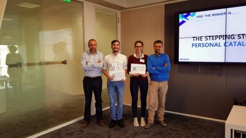 I vincitori premiati da Giannetto e Iankovics