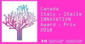 Logo Canada Italia 2018