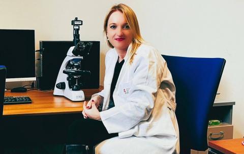 La Prof. Vanessa Nicolin