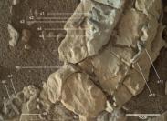 Imaging analysis: strutture marziane che potrebbero essere tane fossili.