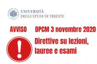 Applicazione dpcm 3 novembre 2020