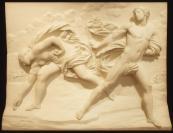 bassorilievo atalanta e ippomene