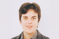 La ricercatrice Chiara Bedon