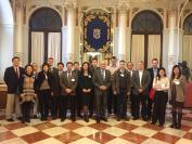 I rappresentanti EURASIACAT nella città di Malaga