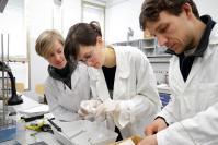 Ricercatori in laboratorio