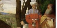 """Particolare de """"I tre filosofi"""" di Giorgione, Kunsthistorisches Museum, Vienna"""