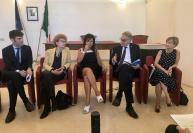 relatori conferenza stampa Next